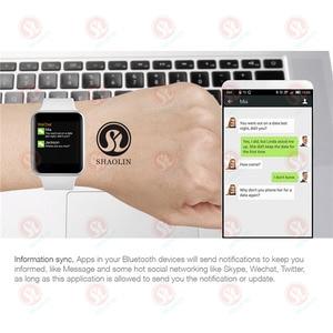 Image 4 - Bluetooth Smart Watch 4 1:1 SmartWatch 42mm custodia per Apple watch iphone iOS Android pedometro ECG frequenza cardiaca serie 4