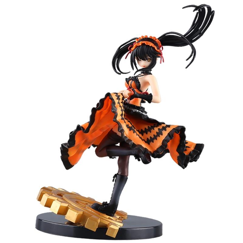 Date A Live Nightmare Kurumi Tokisaki The Worst Spirit Action Figure in Astral Dress Toy 24cm