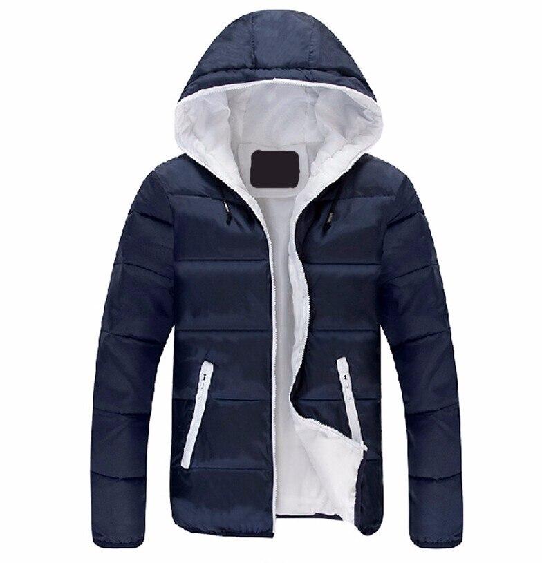 Sıcak 2016 Şık Kış Ultra Hafif Ördek Aşağı Ceket Erkekler yeni Marka Slim Fit Erkek Ceket Ve Mont Parka kapüşonlu 3XL