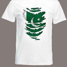 Pakistan Flag T-Shirt see Muscles through Ripped T-Shirt Pakistani Size S - XXXL jacket croatia leather tshirt