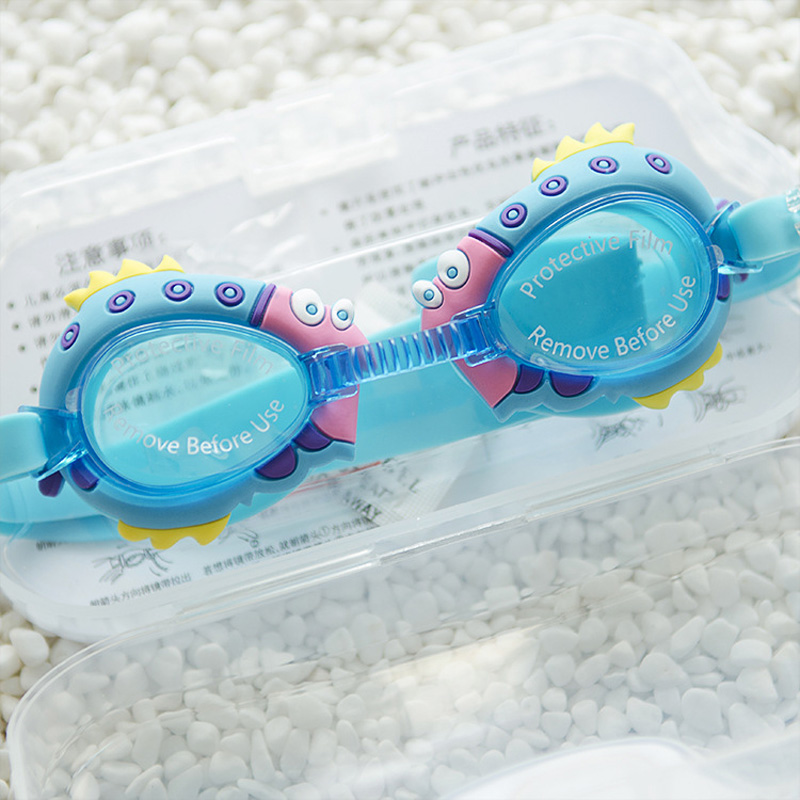 b5b0a94cb73 2019 Special Offer Sale Girls Funny Cartoon Styles Swimming Goggles Kids  Sports Wear Glasses Anti Fog Uv Surfing For Children -in Swimming Eyewear  from ...