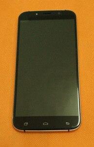 Image 1 - Б/у Оригинальный ЖК дисплей + дигитайзер сенсорный экран + рамка для Уми Рима MTK6753 5,5 дюйма 1280x720 HD Восьмиядерный, бесплатная доставка
