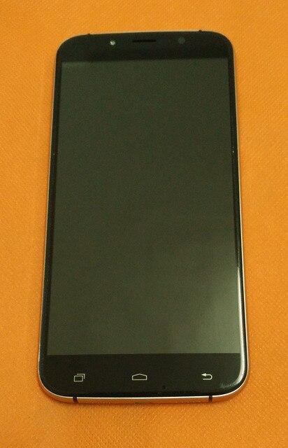 Б/у Оригинальный ЖК дисплей + дигитайзер сенсорный экран + рамка для Уми Рима MTK6753 5,5 дюйма 1280x720 HD Восьмиядерный, бесплатная доставка