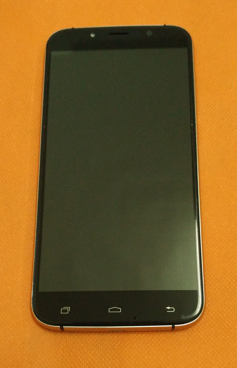 Used Original LCD Display +Digitizer Touch Screen+ Frame for UMI Rome MTK6753 5.5 inch 1280x720 HD Octa Core Free shipping