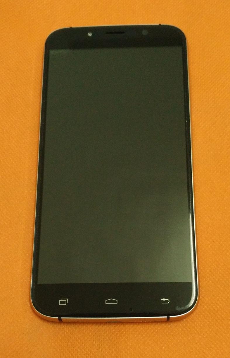 bilder für Verwendet Original LCD Display + Digitizer Touch Screen + Rahmen für UMI Rom MTK6753 5,5 zoll 1280x720 HD Octa Kern Kostenloser versand