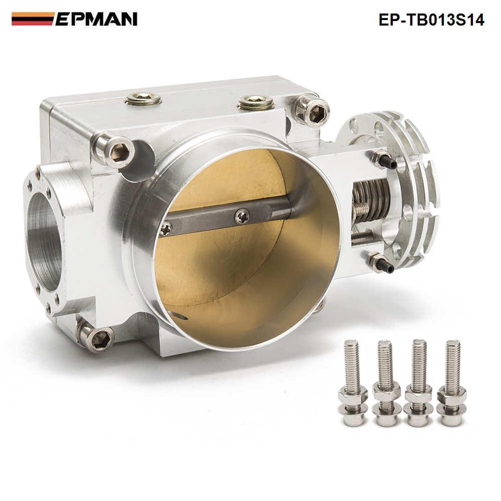 Throttle Body 70MM For Nissan Silvia SR20 S13 S14 S15 SR20DET 200SX 240SX Silver EP TB013S14