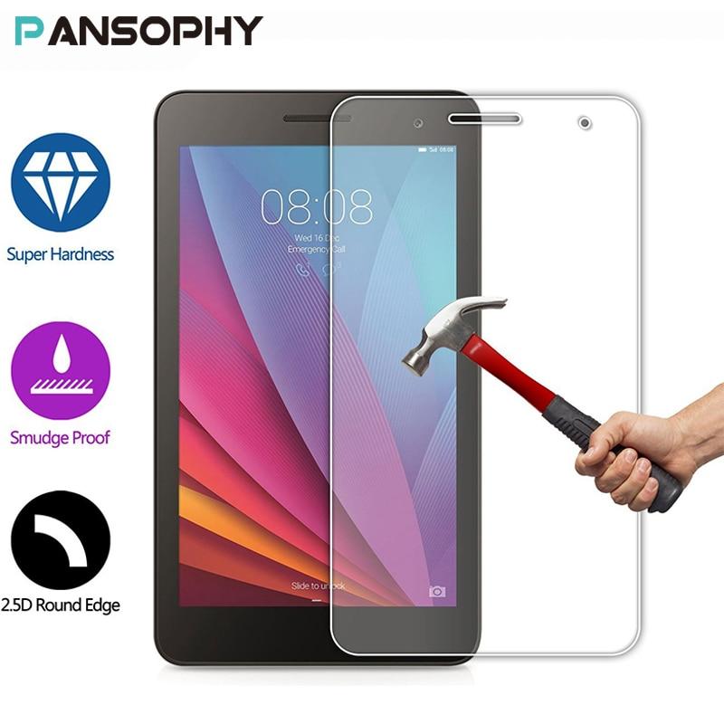 محافظ صفحه نمایش 9H 7 اینچی برای Huawei Mediapad T1 7.0 T1-701u شیشه خو برای Huawei T2 7.0 701w 7 اینچی محافظ فیلم محافظ