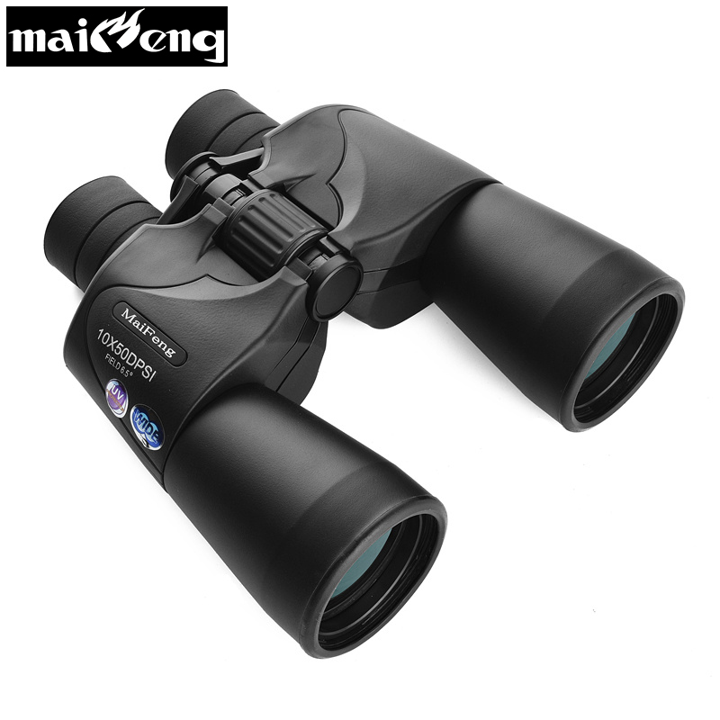 HD Russian Military Binoculars 10X50 Nitrogen Waterproof Telescope Portable Long Range binoculo for Hunting Lll Night