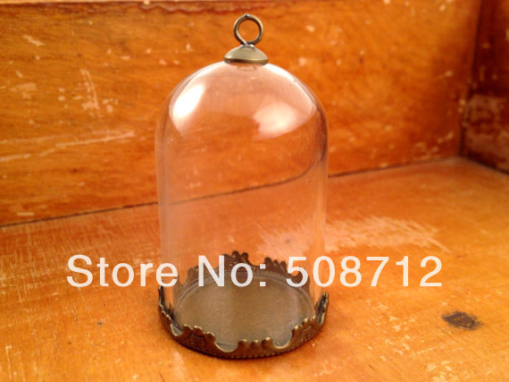 how to make cloche pendant