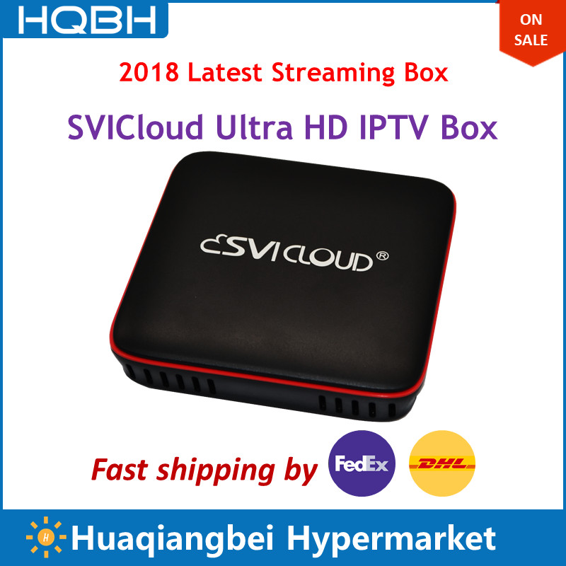 Singapour Fiber TV Set Top Box SVICloud IPTV Boîte Remplacer Starhub Câble V9 Pro V8 D'or Boîte Box Astro