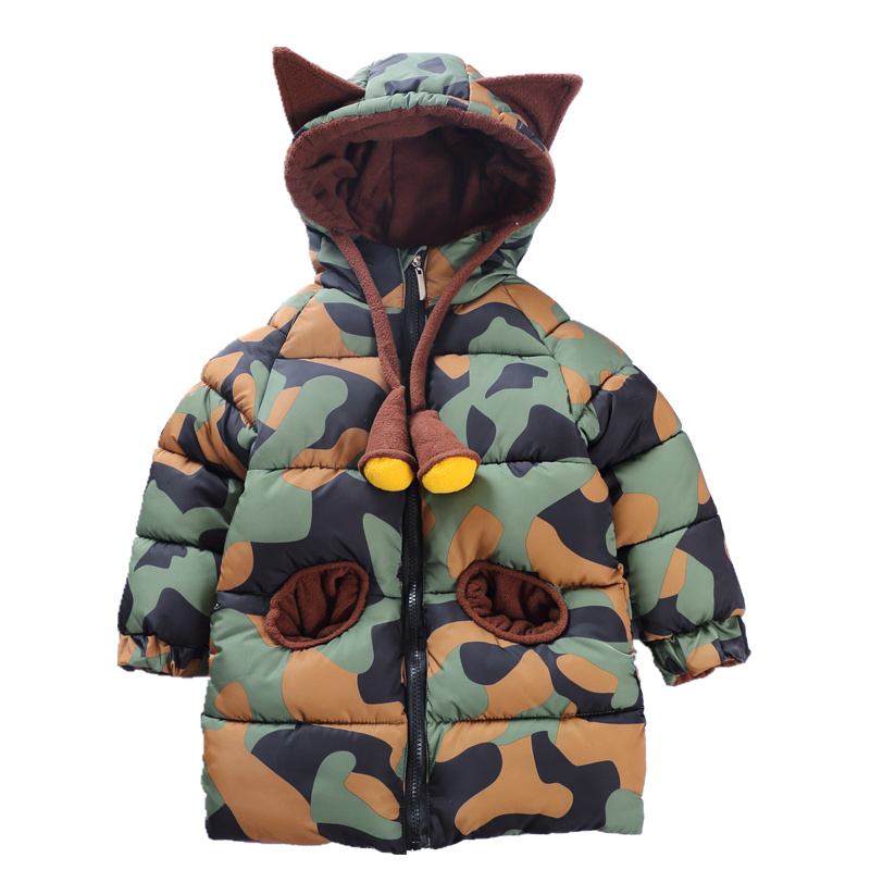 2018 spring New Warm Girls Thin Down Cotton Jackets & Coats Baby Kids autumn winter Down Jacket Children 1-8Y Outwear Clothes captain america the ultimate guide to the first avenger