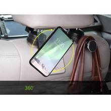 CDCOTN Car Seat Hook Phone Holder Folding Mini Multi-Function Bracket Rear Universal Version Accessories Decoration