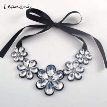 Luxury fashion short statement necklace
