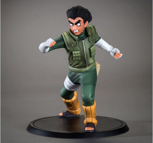 NEW hot 14cm naruto Rock Lee Hachimon Tonko action figure toys collection Christmas gift doll no box new hot 23cm naruto haruno sakura action figure toys collection christmas gift doll no box