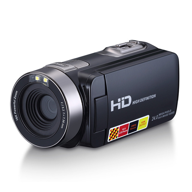 HD Digital Camera Professional 16X Zoom  Digital Video Camera Camcorder Photo DSLR Camera DV 3.0″ LCD Touch Screen with Remote