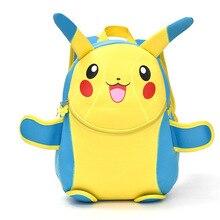 Nette Kinder Schultasche Pikachu Rucksack kawaii Schöne Infantil Taschen Schule Rucksack Weibliche Kind TASCHE Für Teenager Geschenk BB0029
