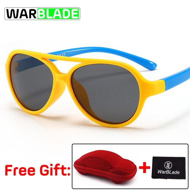 11 Warna Anak-anak Kacamata Hitam Bersepeda Terpolarisasi Merek Desain  Keamanan Anak Laki-laki 7beff1660b