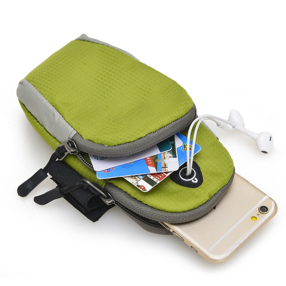5.5inch Sports Running Jogging Gym Armband Arm Band Holder Bag For Mobile Phones