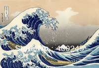 Seascapes paintings Canvas art Katsushika Hokusai Japanese oil Painting The Great Wave at Kanagawa hand painted High quality