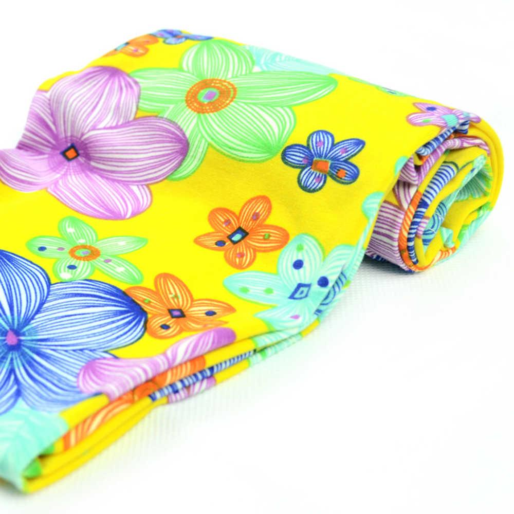 สาวผอมกางเกงใหม่มาถึงดอกไม้การพิมพ์สาวดอกไม้เด็กกางเกงเลกกิ้งยืดหยุ่นกางเกงเลกกิ้ง2-14Yเด็กเลคกิ้งเด็ก