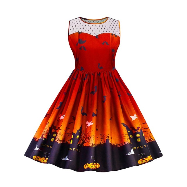 4362526b14b07 Wipalo Vintage 4xl 5xl Plus Size Women Dress Autumn Women Retro 50s  Rockabilly Dresses Hollow Out