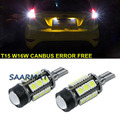 For  Ford Focus dodge caliber Canbus Error Free T15 W16W 921 912 Car LED Lights Backup Reverse Tail Bulb