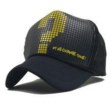 Fashion Women Men Hats And Caps Casual Snapbacks Cap Question Mark Letters  Summer Mesh Baseball Caps 1ec889cdea2f
