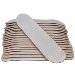 8 DIY Blank Skateboard 10pcs Lot Blank Sakteboard Dek Dubbele Concave Kick Dek 7ply Canadese Maple 8 X31 Dubbele Rocker