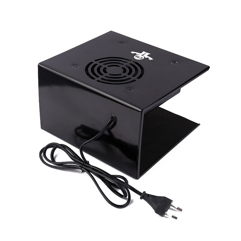 300W Air Nail Fan Dryer Machine Both Hands Warm Cool Breeze,Black three hands 30 см light breeze 22391