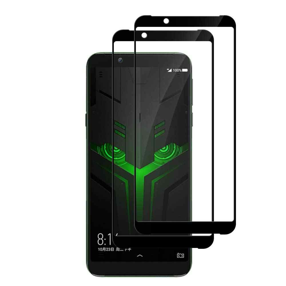 9H Full Glue Cover Tempered Glass for Xiaomi Black Shark 1 2 Screen Protector for Xiaomi Black Shark Helo Protective Film Glass