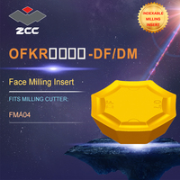 ZCC. CT torno insere OFKR-DF/DM para indexável ferramenta de fresagem de perfil FMA04 para faceamento indexável fresas