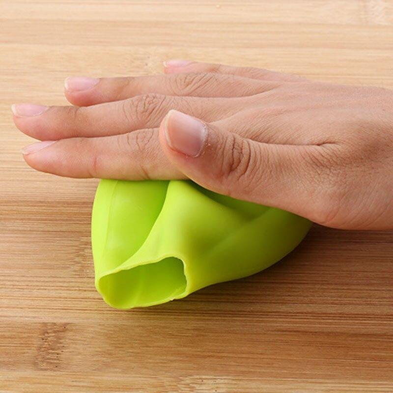 Éplucheur d'ail en caoutchouc créatif presse à ail outil de dénudage d'ail pelé Ultra doux accessoires de cuisine à domicile 5
