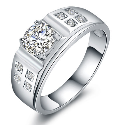 925 silver ring male jewelry noble jewelry birthday gifts mens jewelry superman rings wedding ring