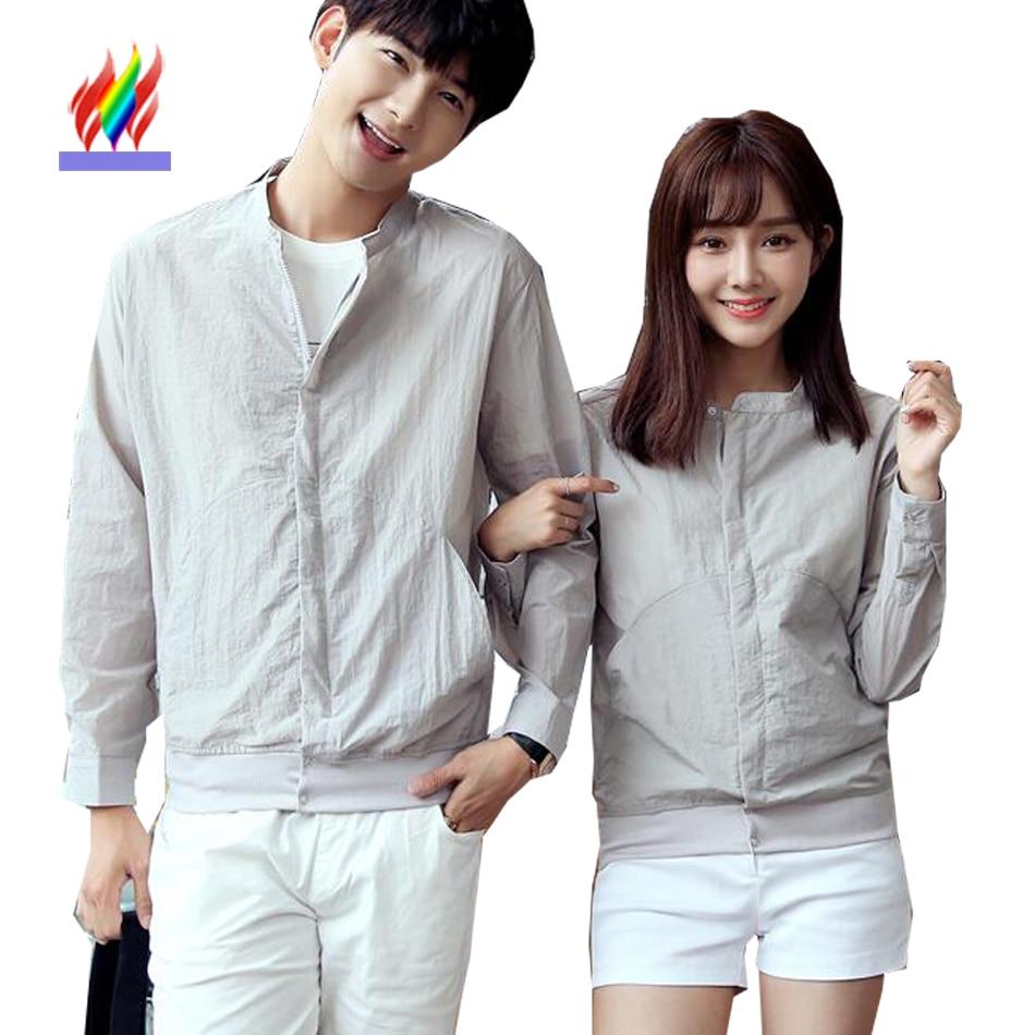 Korean couple hoodies