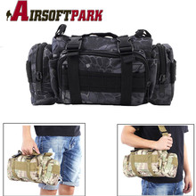Outdoor Sports Shoulder Waist Pack Military Molle PouckTactical Deployment Bag Heavy Duty Hand Carry Bag