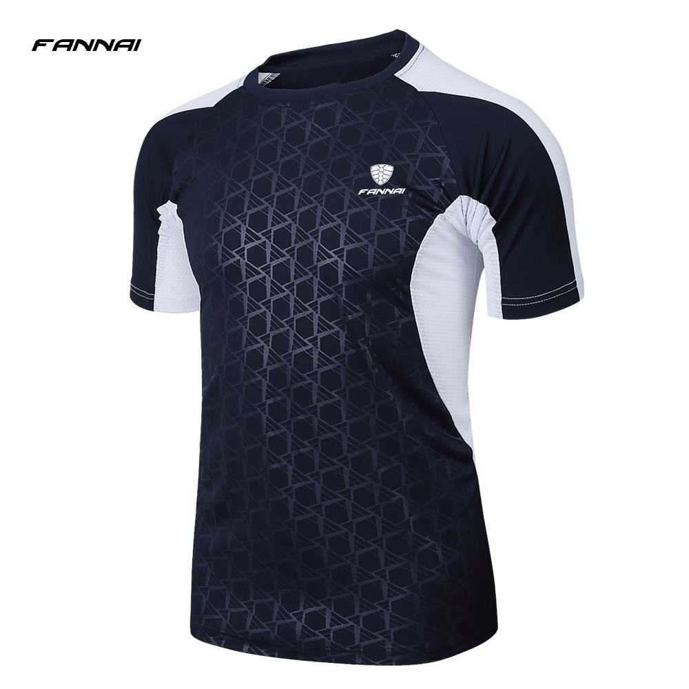 2018 New Men Short Sleeve Running Shirt Sport T-shirt Outdoor Jogging Tops Gym Training Dry Fit Uniform Sportswear 2016 outdoor protection esdy tactical training long sleeve sport t shirt underwear wicking speed dry outdoor warm tight shirt