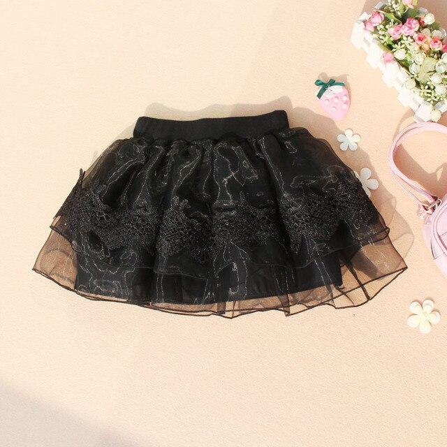 0efb9e0dc New Promotion Girls Skirts Summer Kids 2018 Children Black Tutu ...