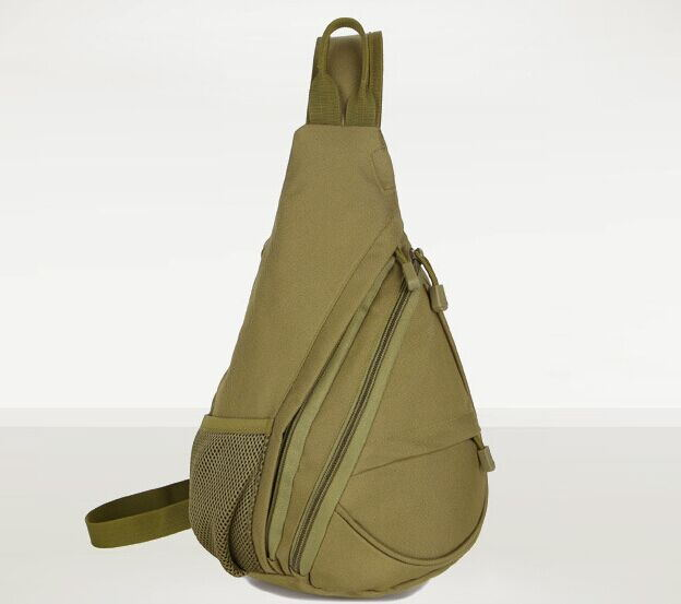 Outdoor font b Tactical b font Waterproof Chest Sling Pack Outdoor Sport Shoulder bags Man Ride