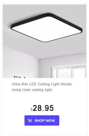 Mini led luzes de teto casa montagem