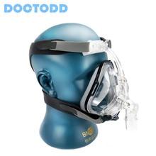 Doctodd FM1 Full Face Mask Super Sale BMC For CPAP Auto CPAP APAP BPAP Bipap W/ Headgrear Size S M L Adjustable Respirator Mask