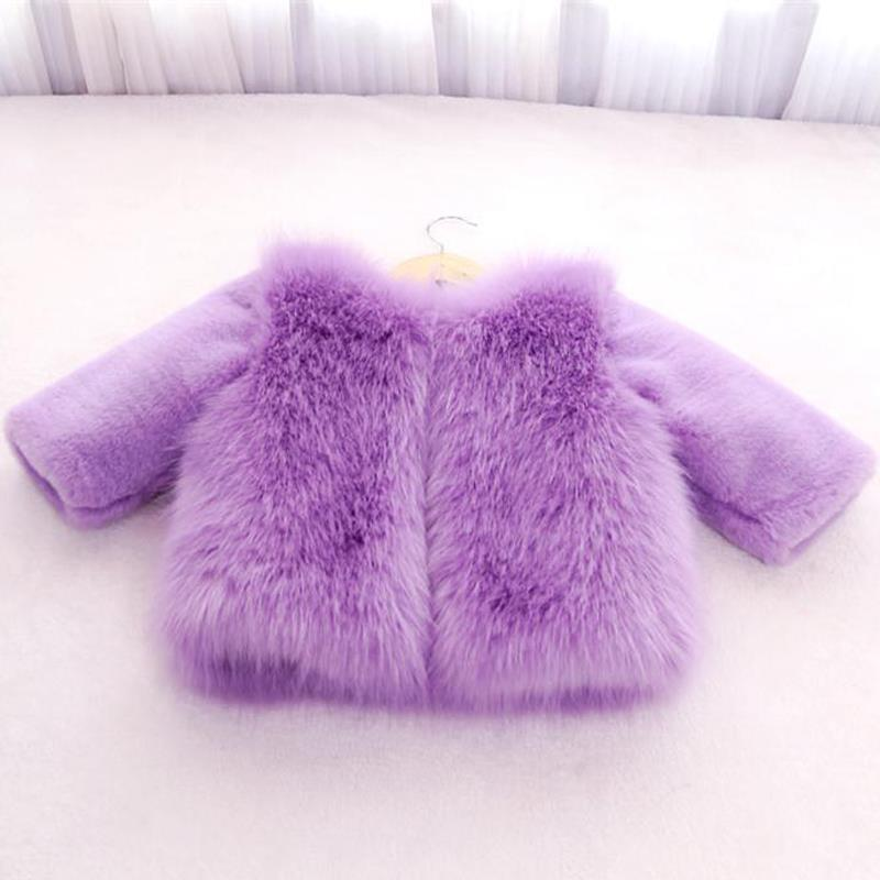 Модное зимнее меховое пальто детская одежда для девочек детская одежда парка элегантная одежда для девочек роскошный костюм с воротником и...