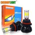CNSUNNYLIGHT Coche Llevó La Linterna 9007 de Alta luz de Cruce HB5 hi/lo de alta Potencia de Luz de Niebla DRL Cob Llevó la Cabeza Conversional Kit