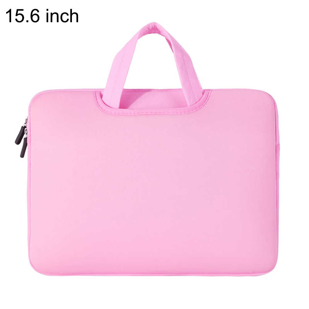 Laptop Protective Sleeve Case Zipper Nylon Computer Bags Nylon Portable Bag for 15.6 inches Wear-resistant Laptop Bag