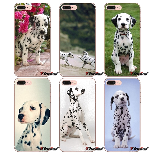 Baby Dalmatian Puppies Dog Soft Phone Case For Huawei G7 G8 Ascend