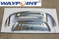 stainless steel For Volkswagen Touareg 2011 15 bumper board guard skid plate bar