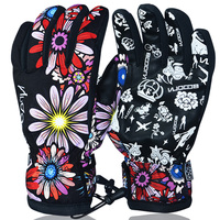 BOODUN Winter Ski Gloves Waterproof Windproof Plate Single Men And Women Professional Men And Women Warm