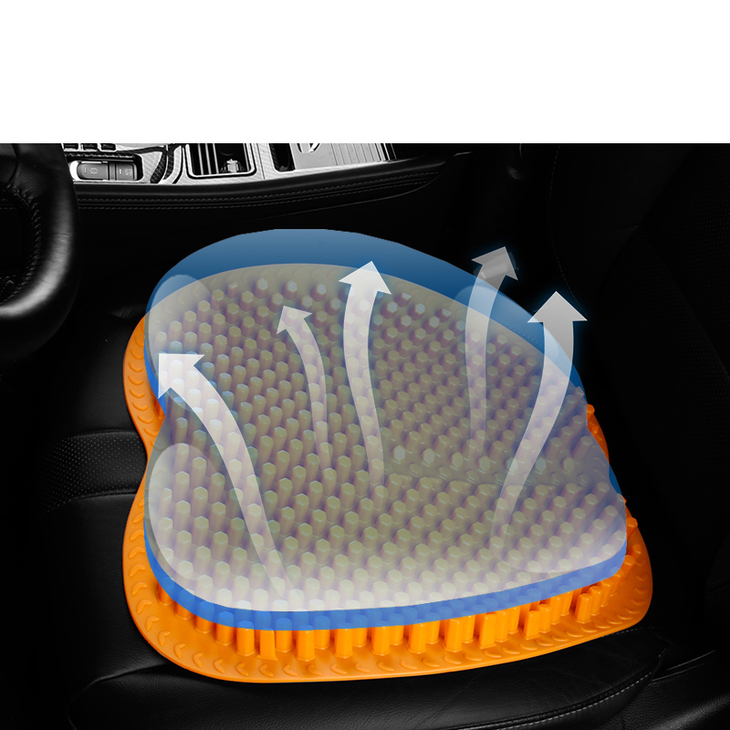 Lsrtw2017 3D Silica Gel Car Summer Refreshing Massage Cushion for Trumpchi Gs7 Gs8 2017 2018 2019 2020 in Interior Mouldings from Automobiles Motorcycles