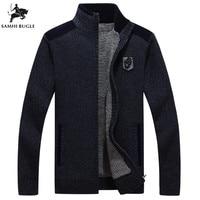 Men's Clothing 2018 Winter Brand Sweater Men Cashmere Thickener Zipper Cardigan Sweater Men Turtleneck Sweater