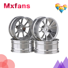 Black Aluminium Alloy RC 1:10 On-Road Racing Car 10-Spoke Wheel Rims Pack Of 4 machinability study of aluminium silicon alloy