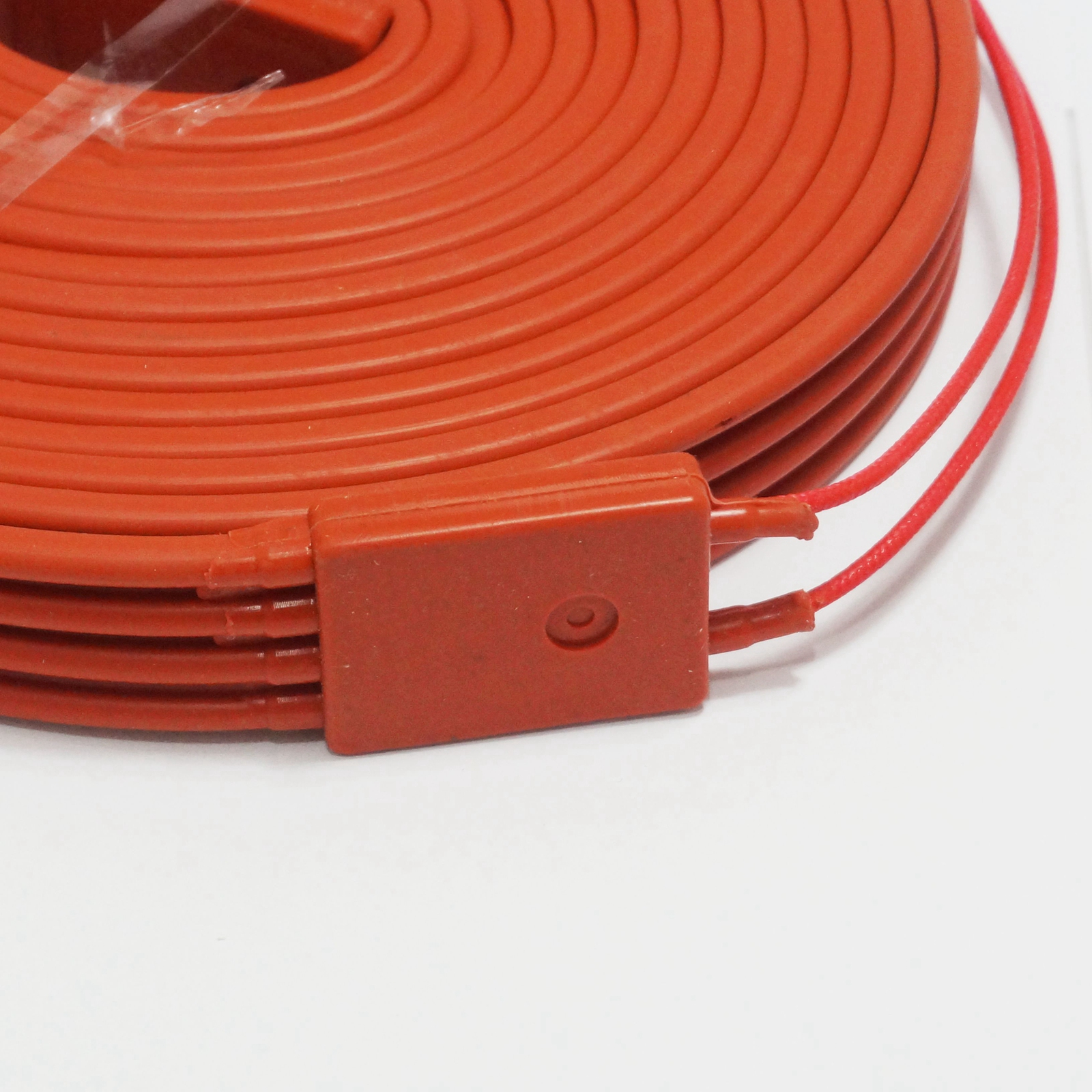medium resolution of 220v ac 25x5000mm 500w waterproof flexible silicone rubber heater heating belt unfreezer for pipeline electrical wires in wires cables from lights